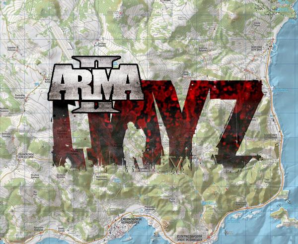 ArmA 2 DayZ Chernorus Map