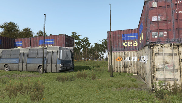 ArmA / DayZ: How To Turn A Bus Into A Gate